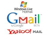 Hotmail ve Yahoo lider konumda, Gmail ise düşüşte!