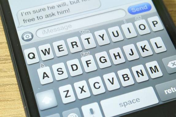 Как в айфоне сделать клавиатуру заглавными буквами