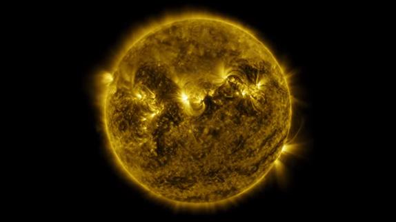 Güneşin 6 Dakikalık Time Lapse Videosu Karşınızda!