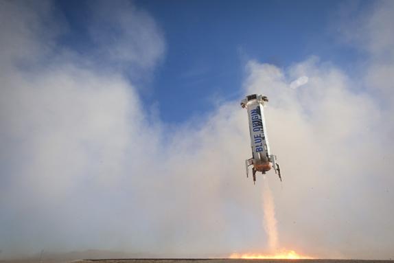 New Shepard Roketinin Yeryüzüne İniş Videosu!