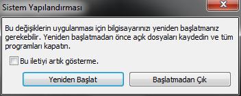 Windows 7de Başlangıçta Açılan Programları Kapatalım