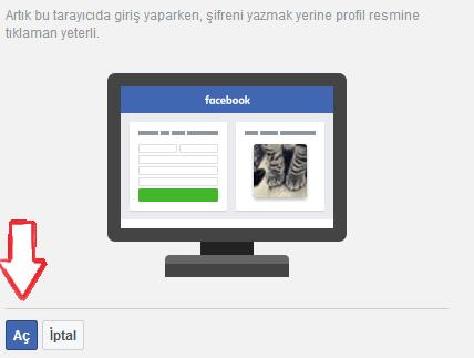 Facebookta Profil Resmiyle Giriş Nasıl Kullanılır?