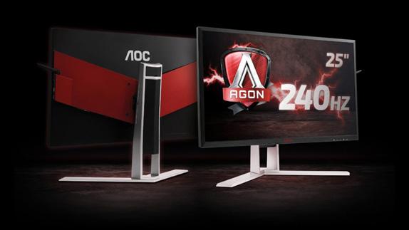 AOC, En Hızlı Oyun Monitörünü Duyurdu: AGON AG251FZ