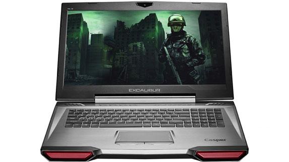 Casper, Oyun Dizüstü Bilgisayarı Excaliburun Yeni Modelini Duyurdu