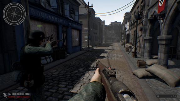 Battalion 1944den Yeni Oynanış Videosu Geldi
