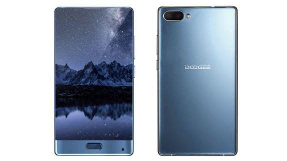 Tamamen Çerçevesiz Ekranlı Akıllı Telefon: Doogee Mix