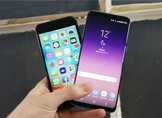 Samsung Galaxy S8 ve iPhone 6s Hız Testi (Video)