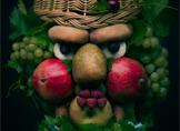 Meyve ve Sebzelerden Gerçekçi Görünümlü Portreler!
