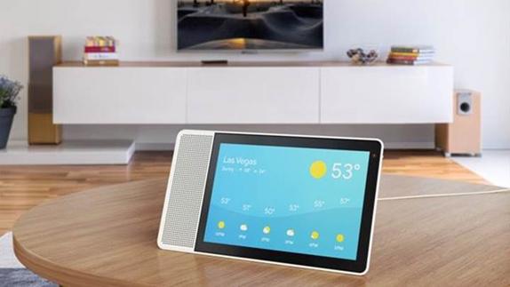 Lenovo, Dokunmatik Ekranlı Akıllı Hoparlörünü Tanıttı