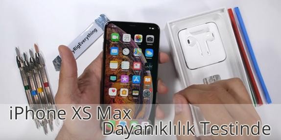 iPhone XS Max Dayanıklılık Testi
