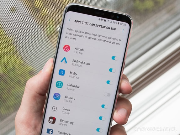 Galaxy Note 9 Uygulama Tam Ekran Olmama Sorunu ve Çözümü