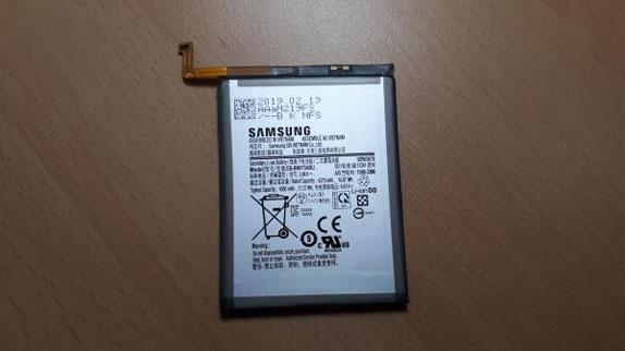 Galaxy Note 10 Pro Batarya