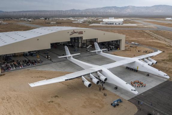 Dünyanın En Büyük Uçağı: Stratolaunch Video