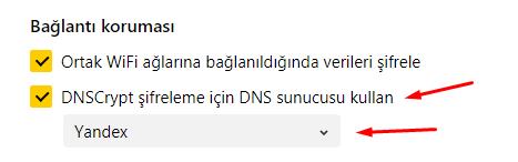 DNSCrypt Nedir? Yandex Browser'da Nasıl Kullanılır?