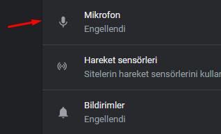 Chrome'da Mikrofon Kapatma Nasıl Yapılır?