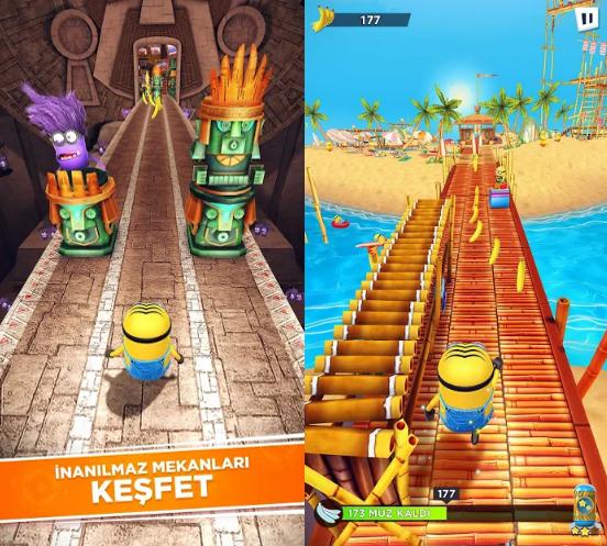 Minion Rush: Çılgın Hırsız Resmi Oyunu - 3