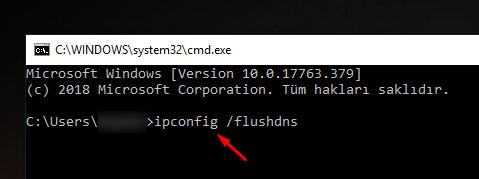 Chrome Hızlandırmak için DNS Temizliği Yapmak