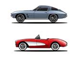 Ford Mustang, Dodge Challenger ve Chevy Corvette