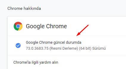 Chrome Yavaş Çalışıyor Sorunu