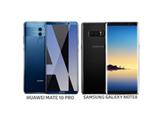 Huawei Mate 10 Pro ve Galaxy Note 8
