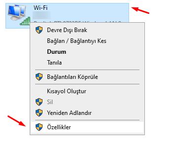 Yandex DNS Yönlendirme