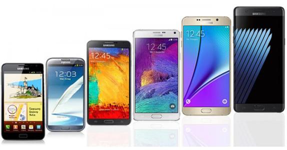 Samsung Galaxy Note Serisi Gelişim Videosu