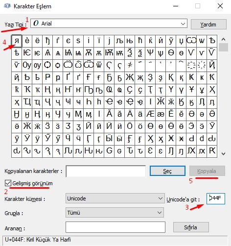 Klavyede Ters R Harfi (я) Nasıl Yapılır?