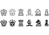 Klavyede Satranç İşaretleri - Satranç Taşları Şekilleri