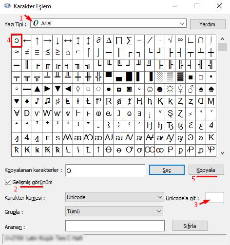 Bilgisayarda Klavyede Küçük Ters C İşareti Nasıl Yapılır?