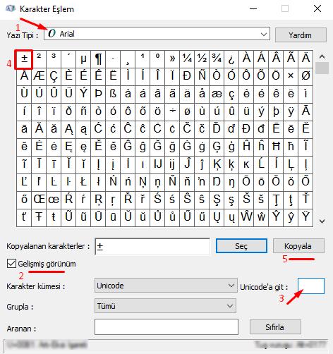 Bilgisayarda Klavyede Üst Üste Artı Eksi İşareti Nasıl Yapılır?