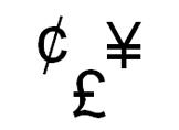 Klavyede Cent - Sterlin - Yen İşareti Nasıl Yapılır?