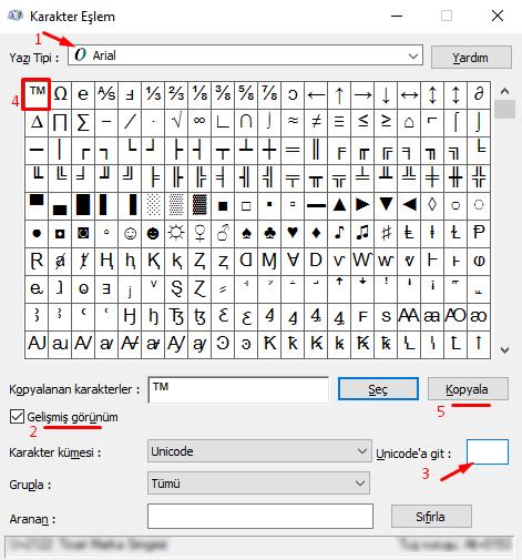 Klavyede Ticari Marka TM İşareti Nasıl Yapılır?