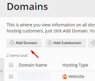 Plesk Obsidian'da Yeni Domain Ekleme Nasıl Yapılır?