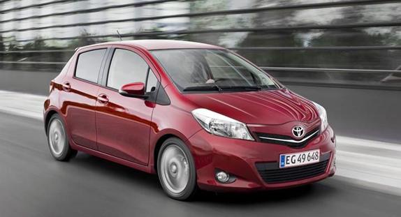 En Güvenilir Otomobiller - Toyota Yaris