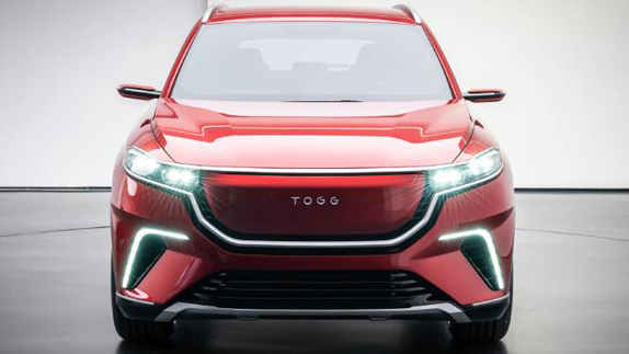Yerli Otomobil TOGG SUV Ön Görünüş