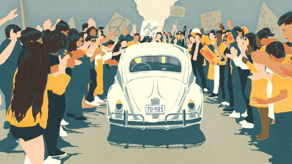 Volkswagen Beetle The Last Mile Video İzle