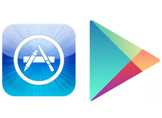 App Store ve Google Play