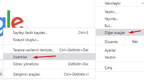 Chrome'da Eklenti (Uzantı) Güncelleme Nasıl Yapılır?