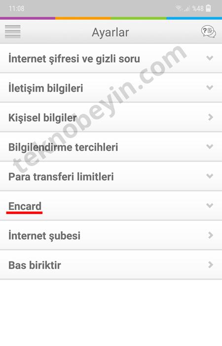 Enpara Encard İnteret Alışveriş Limiti Arttırma Azaltma Nasıl Yapılır?