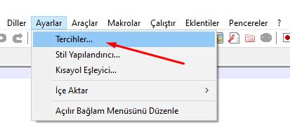 Notepad++ Durum Çubuğu Gizleme Nasıl Yapılır?