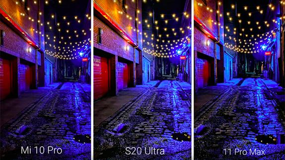 Mi 10 Pro, Galaxy S20 Ultra ve iPhone 11 Pro Max Kamera Testi