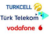 Turkcell-Türk Telekom-Vodafone
