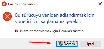 Windows 10 Sürücü İsim Değiştirme Nasıl Yapılır?