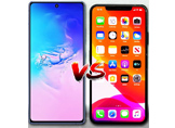 Galaxy S10 Lite ve iPhone 11 Pro Max