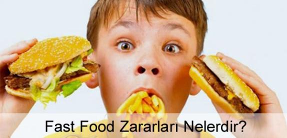 Fast Food Yemenin Sağlığa Zararları