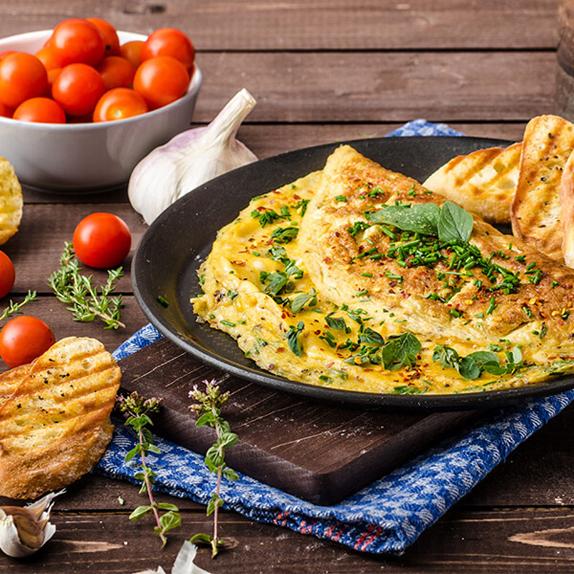Hamilelikte (Gebelikte) Omlet Yemek - Omlet Tarifleri