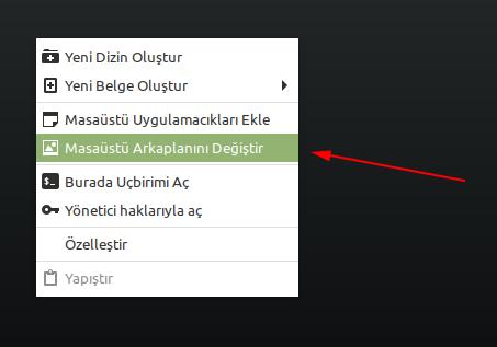 Linux Mint Arkaplan Rengine Geçiş Efekti Ekleyelim
