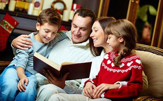 Çocuğa Sevgi Göstermek - Çocuklarla Kitap Okumak