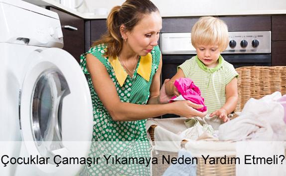 Çocuğa Sorumluluk Nasıl Kazandırılır? Çamaşır Yıkama