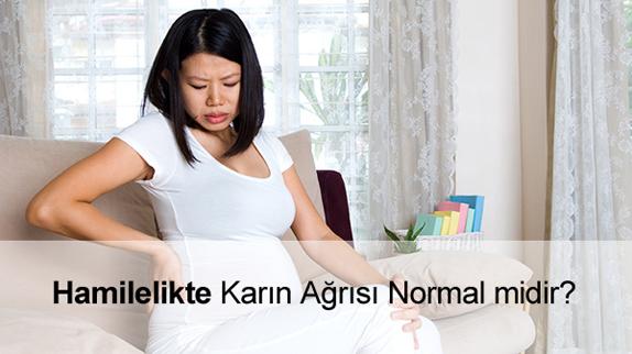Hamilelikte (Gebelikte) Karın Ağrısı Normal mi? Ne Zaman Başlar?